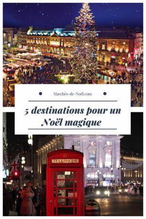 5 destinations pour un Noël magique
