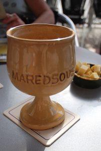 Bière et fromage Maredsous