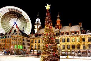 Lille marché de Noël