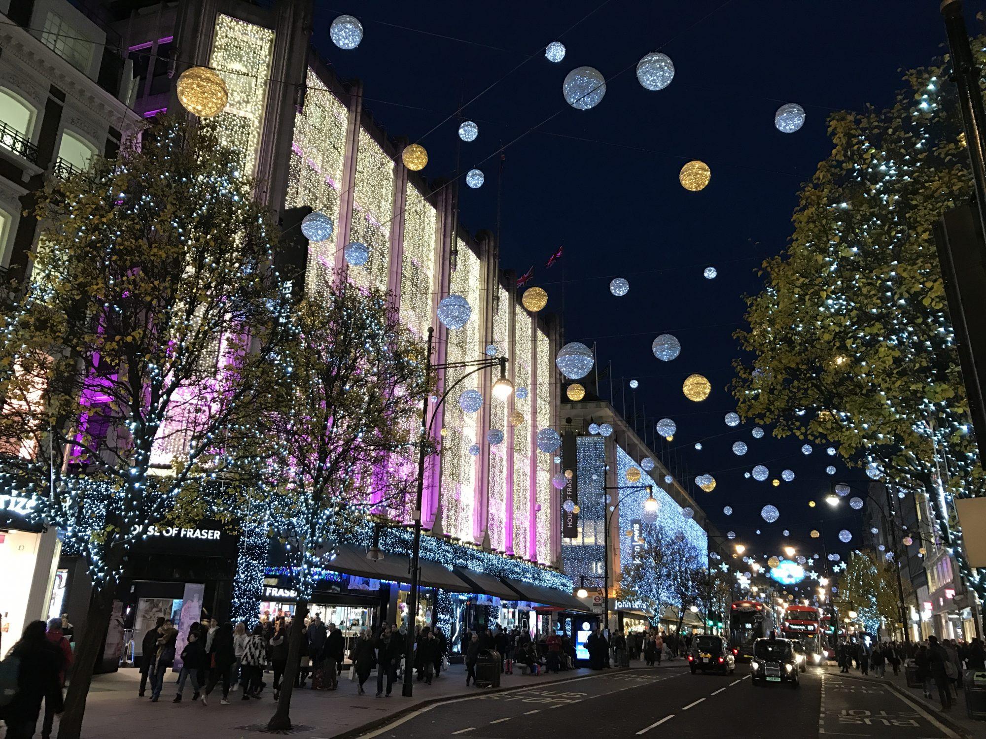 Londres Noel 2