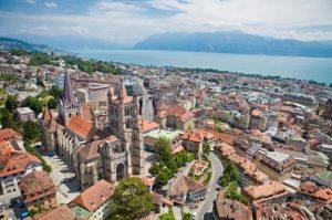 vieille ville Lausanne